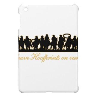 Hoofprints On Hearts iPad Mini Cover