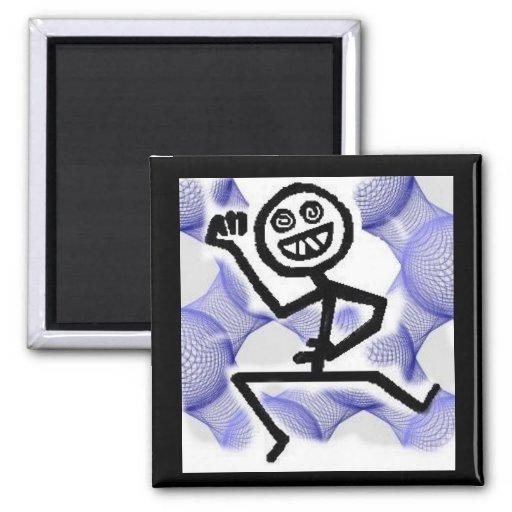 hooj man83B 2 Inch Square Magnet