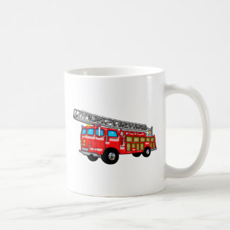 Hook and Ladder Fire Engine Coffee Mug