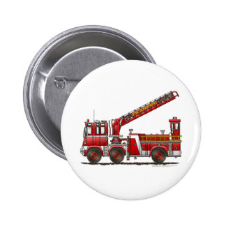Hook and Ladder Fire Truck Button