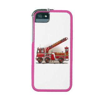 Hook and Ladder Fire Truck Cover For iPhone 5