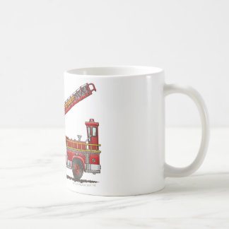 Hook and Ladder Fire Truck Coffee Mug