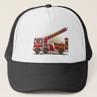 Hook and Ladder Fire Truck Hat