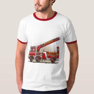 Hook and Ladder Fire Truck Mens T-Shirt