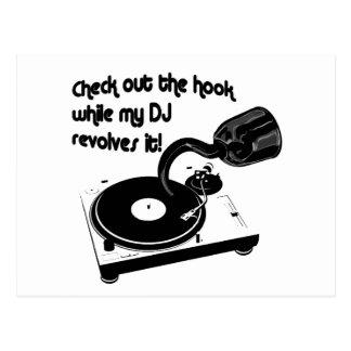 Hook DJ Postcard