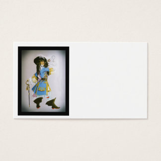 Hook from Peter Pan Business Card