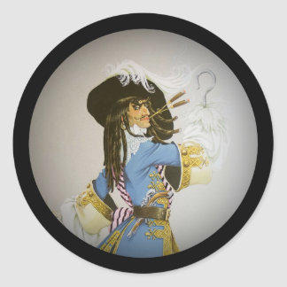 Hook from Peter Pan Classic Round Sticker