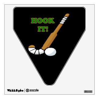 Hook It Room Stickers