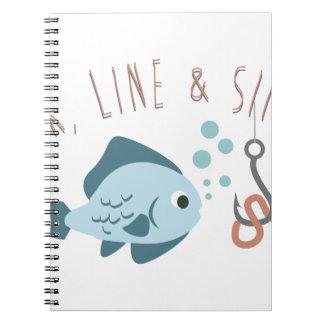 Hook LIne Sinker Notebook