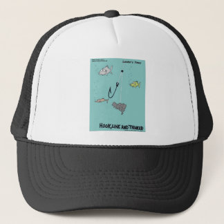 Hook Line & Thinker Funny Gifts Tees & Cards Trucker Hat
