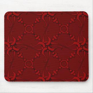Hook & Loop 1 - Red Mouse Pad