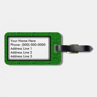 Hook & Loop 2 - Green Luggage Tag