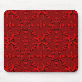 Hook & Loop - Red Mouse Pad