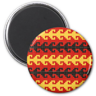 """""""Hook"""" magnet - red/yellow/black"""
