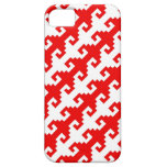 """""""Hook"""" pattern iPhone case iPhone 5 Cases"""