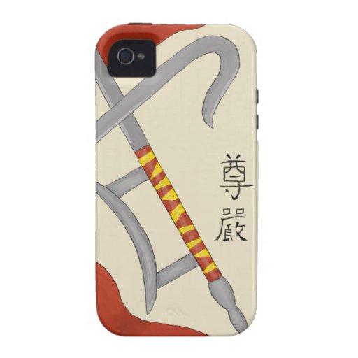 Hook Swords iPhone 4/4S Covers