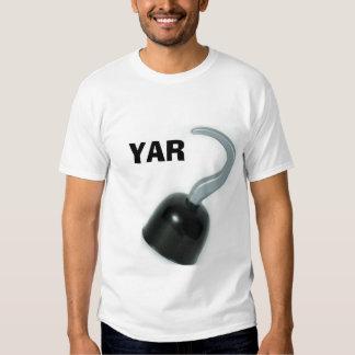 hook, YAR Tee Shirt