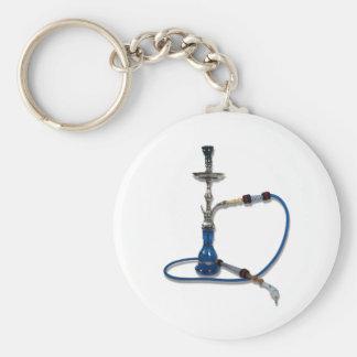 Hookah082510 Basic Round Button Keychain