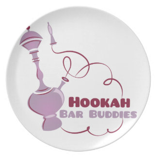 Hookah Bar Buddies Plate