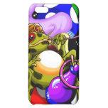 Hookah Frog black iPhone 5C Cases