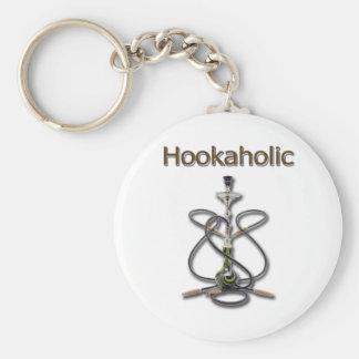 Hookah Holic 2 Basic Round Button Keychain