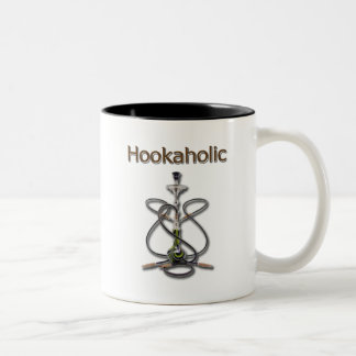 Hookah Holic 2 Two-Tone Coffee Mug