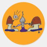 Hookah Mushrooms Sticker