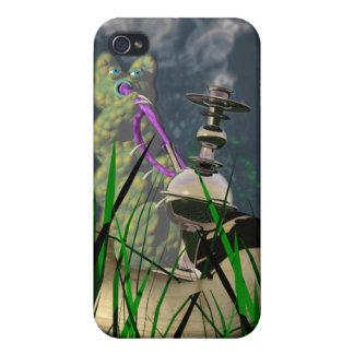 Hookah-smoking caterpillar covers for iPhone 4