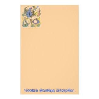 Hookah Smoking Caterpillar Custom Stationery