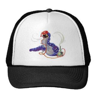 Hookah Smoking Caterpillar in Alice in Wonderland Trucker Hat