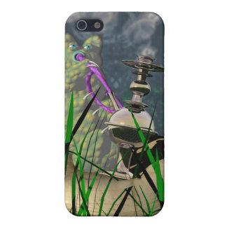 Hookah-smoking caterpillar iPhone SE/5/5s cover