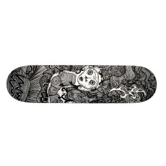 Hookah Smoking Catterpillar Skateboard