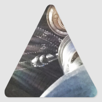 Hookah Time Triangle Sticker