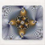 Hooked And Netted - Fractal Mouse Pad