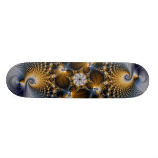 Hooked And Netted - Fractal Skateboard Deck