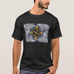 Hooked And Netted - Fractal T-Shirt