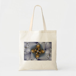 Hooked And Netted - Fractal Tote Bag