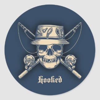 Hooked Classic Round Sticker