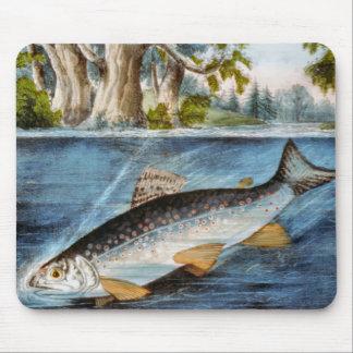Hooked Fish Mousepad