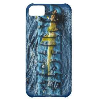 Hooked Fish Walleye, Pickerel Fishing Design iPhone 5C Cover