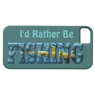 Hooked Fish Walleye, Pickerel Fishing Design iPhone SE/5/5s Case
