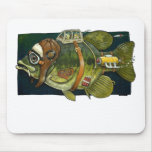 Hooked for life. mousepads