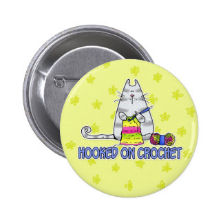 hooked on crochet 2 inch round button