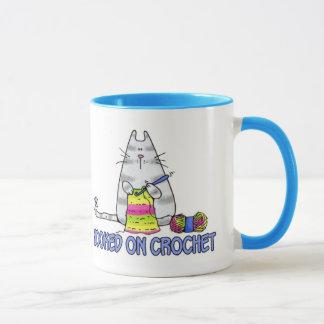 hooked on crochet mug