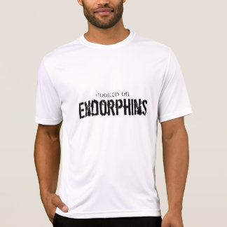 Hooked on Endorphins - Men T Shirts for Running.