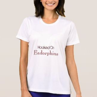 Hooked On Endorphins Running Tshirt For Women