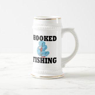 Hooked on Fishing 18 Oz Beer Stein