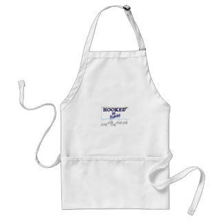 Hooked On Fishing Adult Apron