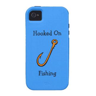 Hooked On FIshing Hook Fisherman Case-Mate iPhone 4 Case