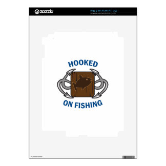 HOOKED ON FISHING SKINS FOR iPad 2